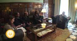 Reunión con el Ministro de Cooperación Saharaui