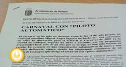 El grupo municipal socialista comenta la organización y difusión del Carnaval