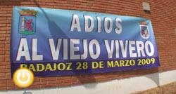 Actos de despedida del estadio del Viejo Vivero