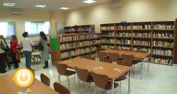 Inauguración de la nueva biblioteca del Cerro de Reyes