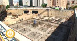 El parking de Santa Marina podría estar listo para finales de 2009 o principios de 2010