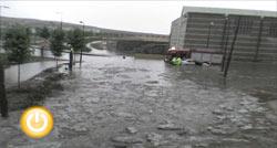 Actuaciones durante la tormenta del domingo en la ciudad
