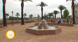 Terminada la reforma del «parque de las viudas»