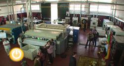 Vara y Celdrán visitan la lavandería del Centro Especial Nuestra Señora de la Luz
