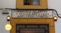 Semana de puertas abiertas en la Escuela de Artes y Oficios Adelardo Covarsí