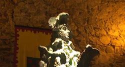Entrega de la estatua de Godoy a la localidad de Olivenza