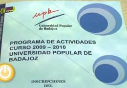 Actividades del curso 2009-2010 de la UPB
