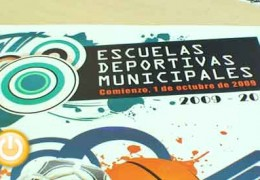 Presentado el curso 2009-2010 de las Escuelas Deportivas Municipales