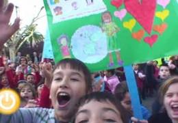 Alrededor de mil escolares acuden a los actos del Día de los Derechos del Niño