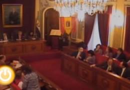 Pleno extraordinario de diciembre de 2009 del Ayuntamiento de Badajoz