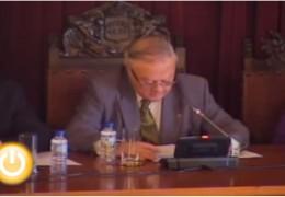 Pleno extraordinario de enero de 2010 del Ayuntamiento de Badajoz