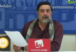 IU pide la creación de una comisión para investigar sobre el Canal de Badajoz