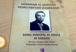 Homenaje al maestro Pedro Pirfano Zambrano