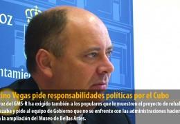 Celestino Vegas pide responsabilidades políticas por el Cubo