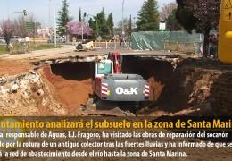 El Ayuntamiento analizará el subsuelo en la zona de Santa Marina