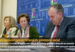 Ibercaja apoya un proyecto local de asistencia social