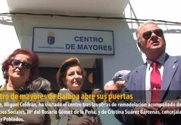 El centro de mayores de Balboa abre sus puertas