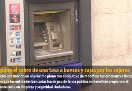 IU propone el cobro de una tasa a bancos y cajas por los cajeros automáticos