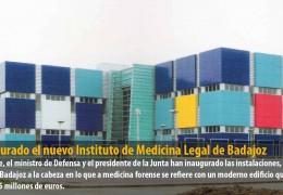 Inaugurado el nuevo Instituto de Medicina Legal de Badajoz