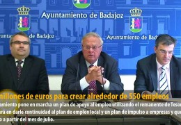 15,2 millones de euros para crear alrededor de 550 empleos