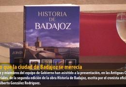 El libro que la ciudad de Badajoz se merecía