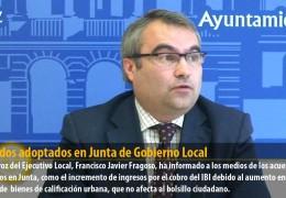 Acuerdos adoptados en Junta de Gobierno Local