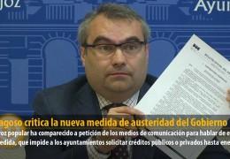 F.J. Fragoso critica la nueva medida de austeridad del Gobierno