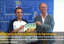 VII Triatlón Puerta de Palmas Alimentos de Extremadura