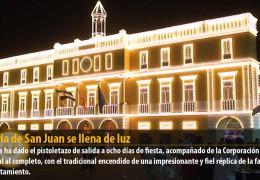 La Feria de San Juan se llena de luz