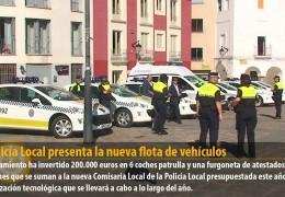 La Policía Local presenta la nueva flota de vehículos