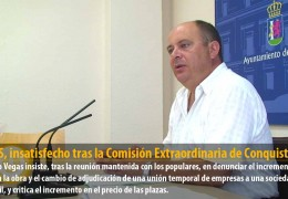 El GMS, insatisfecho tras la Comisión Extraordinaria de Conquistadores