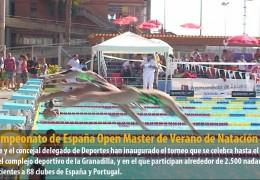 XXI Campeonato de España Open Master de Verano de Natación
