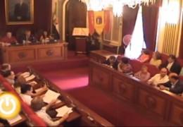 Pleno de julio de 2010 del Ayuntamiento de Badajoz