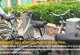 12 nuevas bases para el Servicio Público de Bicicletas