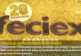 FECIEX volverá en septiembre en su XX aniversario