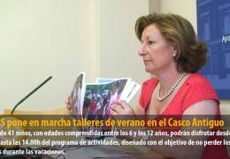 El IMSS pone en marcha talleres de verano en el Casco Antiguo