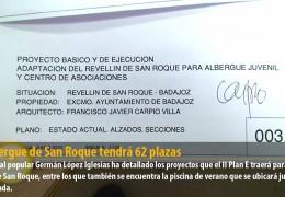 El albergue de San Roque tendrá 62 plazas