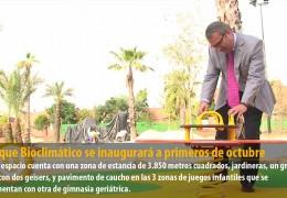 El parque Bioclimático se inaugurará a primeros de octubre