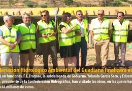 La Ordenación Hidrológico Ambiental del Guadiana finalizará en 2012