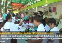 Clausuradas las actividades de Vive el Verano en Castelar