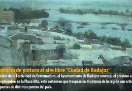 XI Concurso de pintura al aire libre «Ciudad de Badajoz»