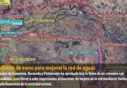 60 millones de euros para mejorar la red de aguas