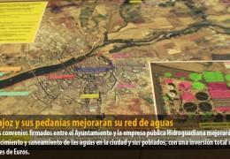 Badajoz y sus pedanías mejorarán su red de aguas