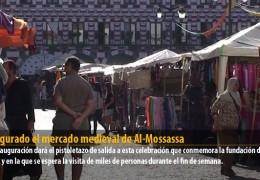 Inaugurado el mercado medieval de Al-Mossassa