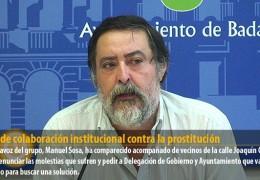 IU pide colaboración institucional contra la prostitución en Joaquín Costa