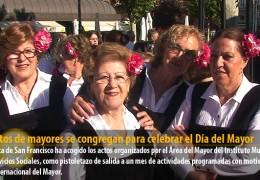 Cientos de mayores se congregan para celebrar el Día del Mayor