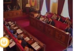 Pleno de octubre de 2010 del Ayuntamiento de Badajoz