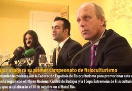 Badajoz acogerá su primer campeonato de fisioculturismo
