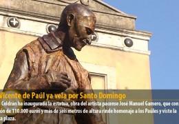San Vicente de Paúl ya vela por Santo Domingo
