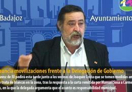 IU anuncia movilizaciones frente a la Delegación de Gobierno